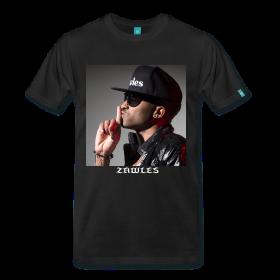 custom black t-shirt zawles