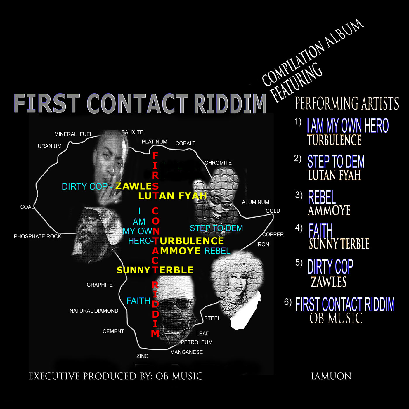 ARTWORK First Contact Riddim - Stream & Download - 'Dirty Cop' on First Contact Riddim EP